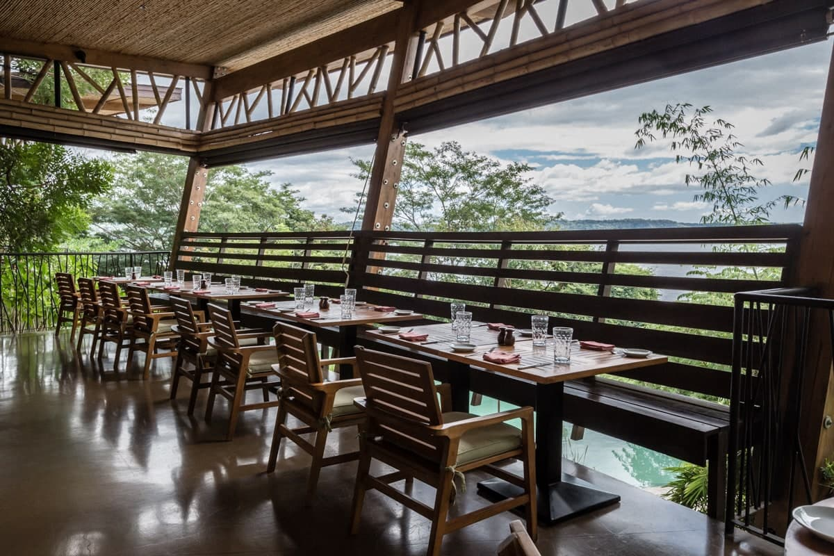 Wedding guests will love the rainforest views while celebrating reception at Andaz in Papagayo.
