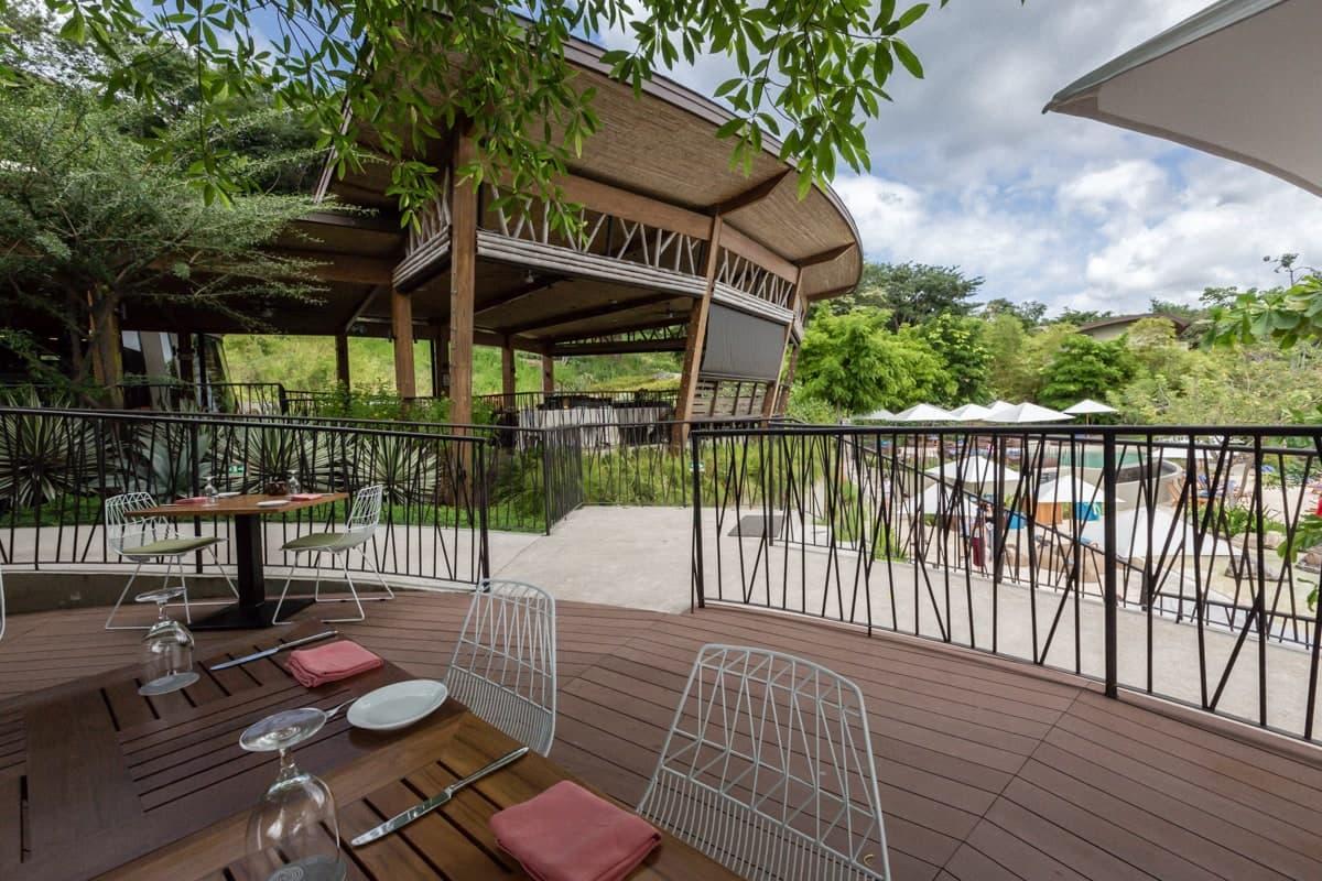 Site for wedding celebrations at Rio Bhongo Restaurant at Andaz Resort.