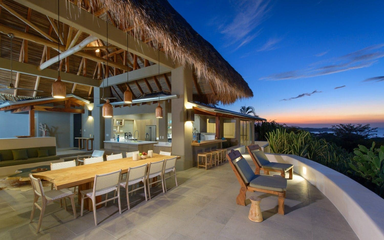Sunset House in Tamarindo is a marvelous venue for a luxury, private wedding in Costa Rica.