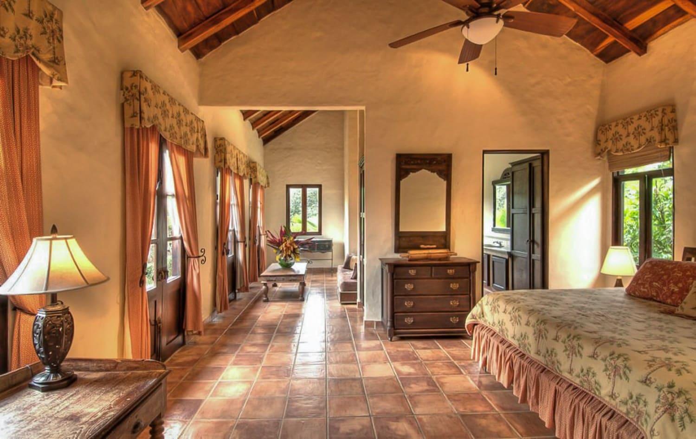 Honeymoon suite at Hacienda Barrigona in Costa Rica.