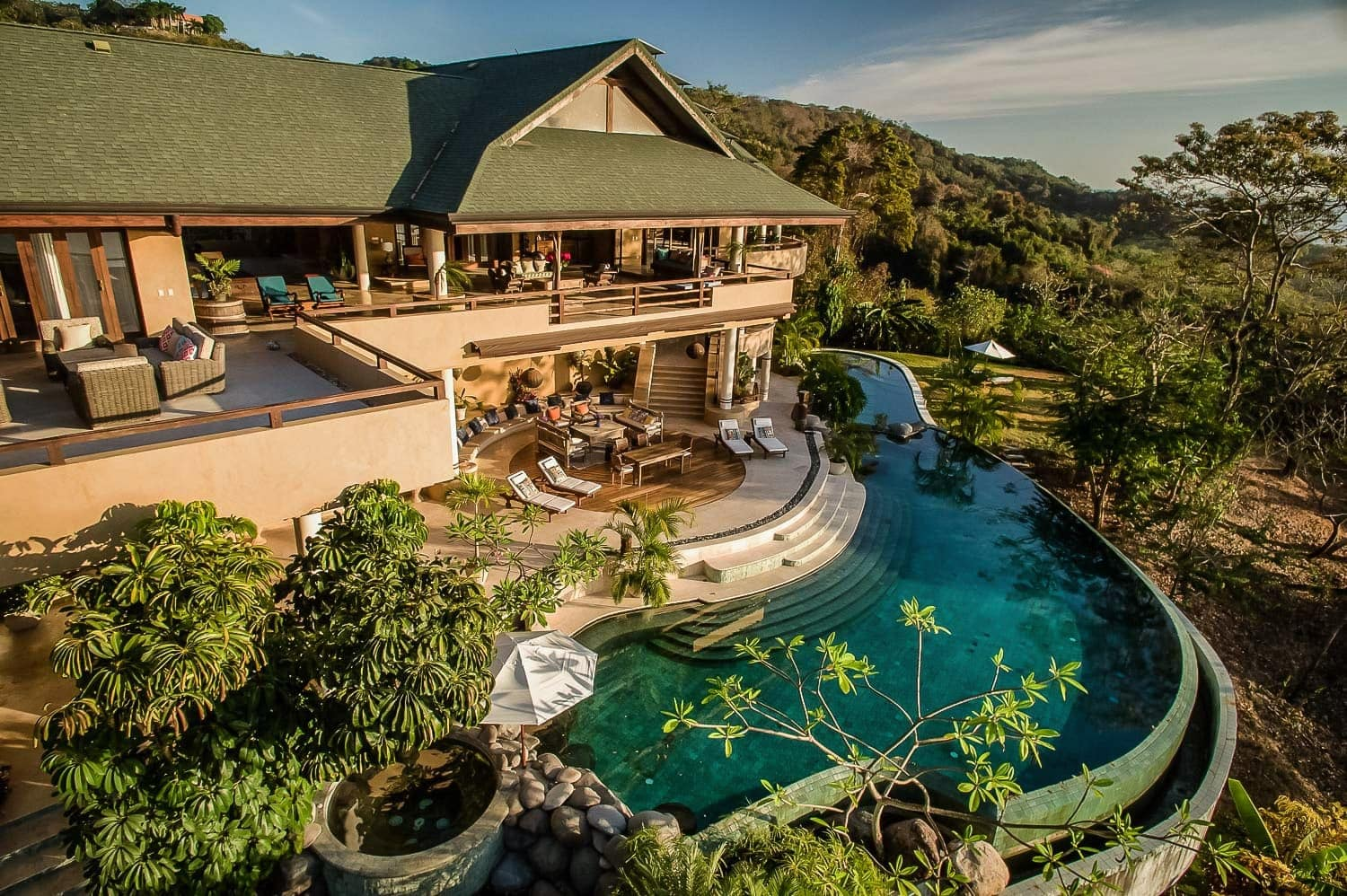 Villa Nimbu, one of the two luxury villas at Ocio Villas for destination weddings in Costa Rica.