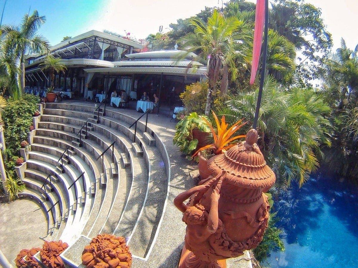 Amphitheater wedding ceremony and reception venue at Villas Caletas, Costa Rica.