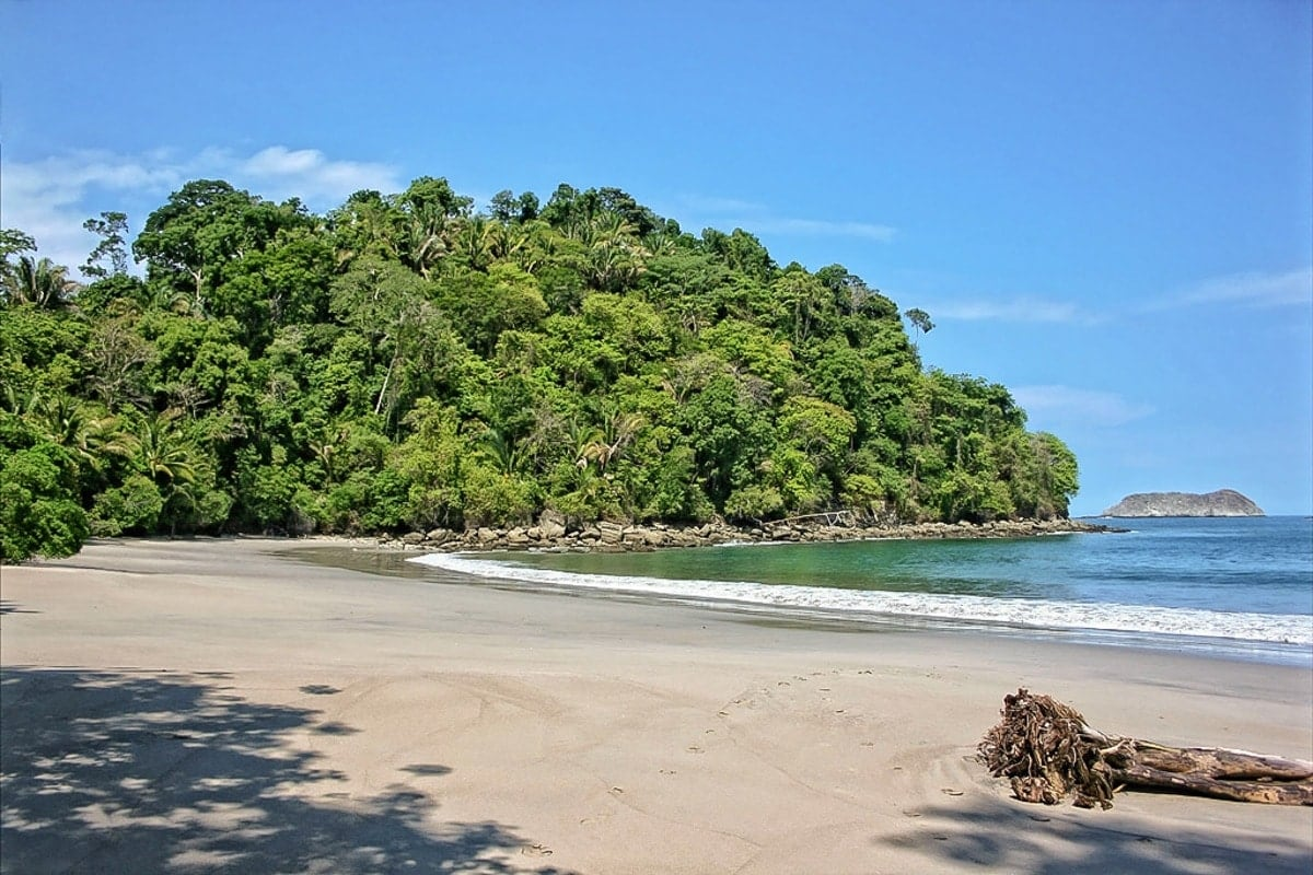 Villa Caleta's location for a private beach wedding in Costa Rica.
