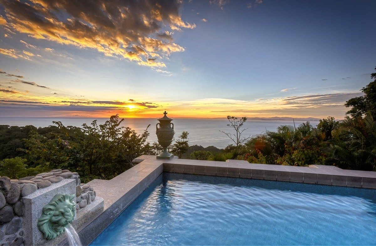 Imagine watching the sunset from this pool at Zephyr Palace the day after your wedding.