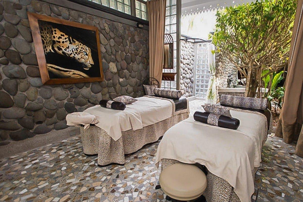 Have a massage at Serenity Spa at Villa Caletas.
