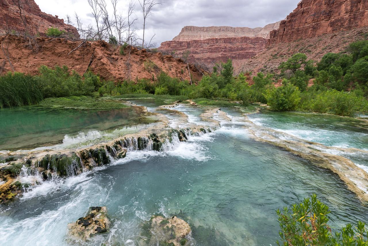 Top of Navajo Falls
