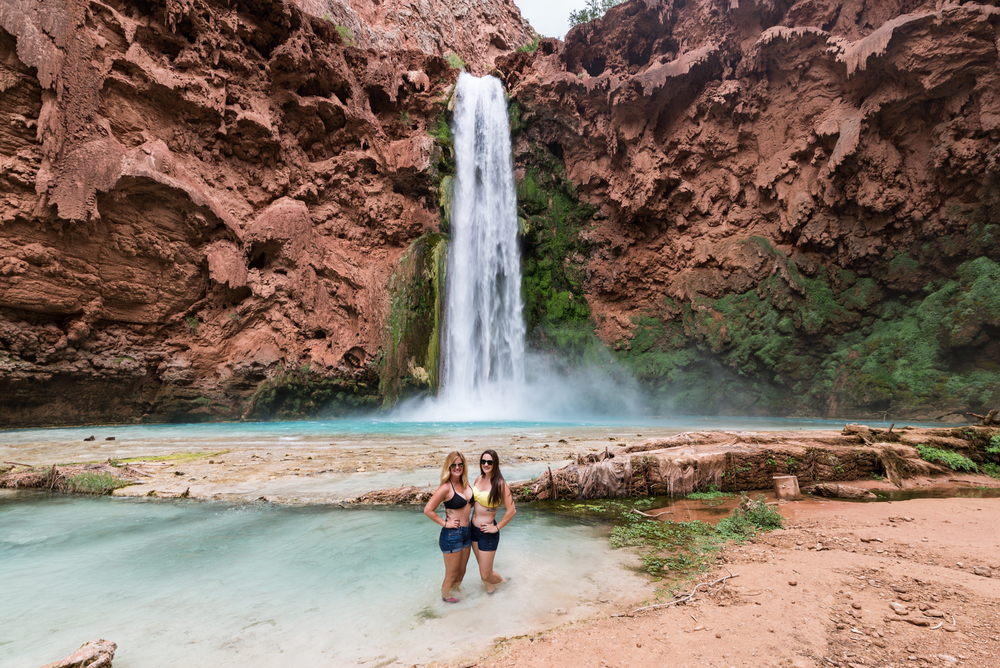 Hanging Out at Mooney Falls