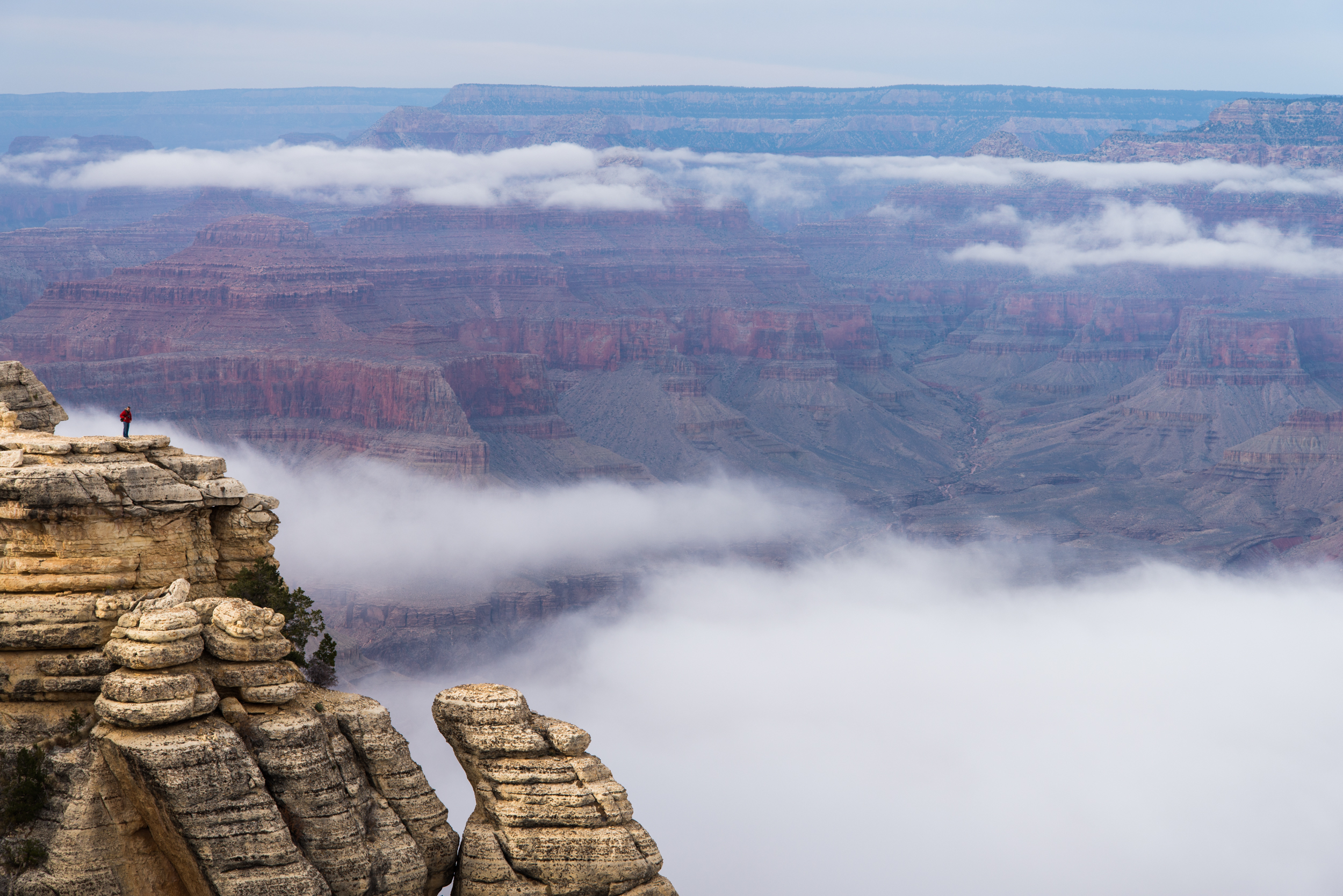 First Ever View of Grand Canyon
