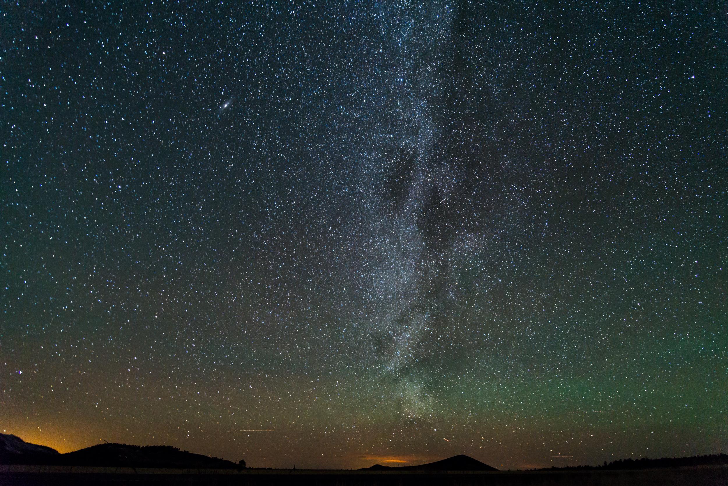 Wintertime Milky Way