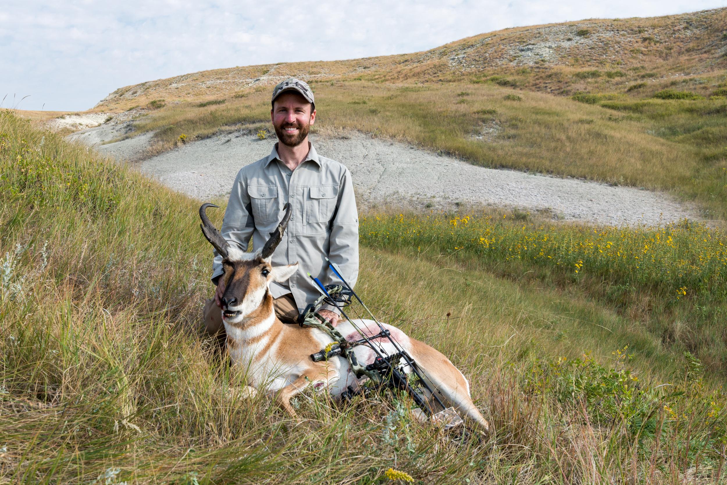 Nebraska Antelope Hunt 2017 - Crawford, Nebraska