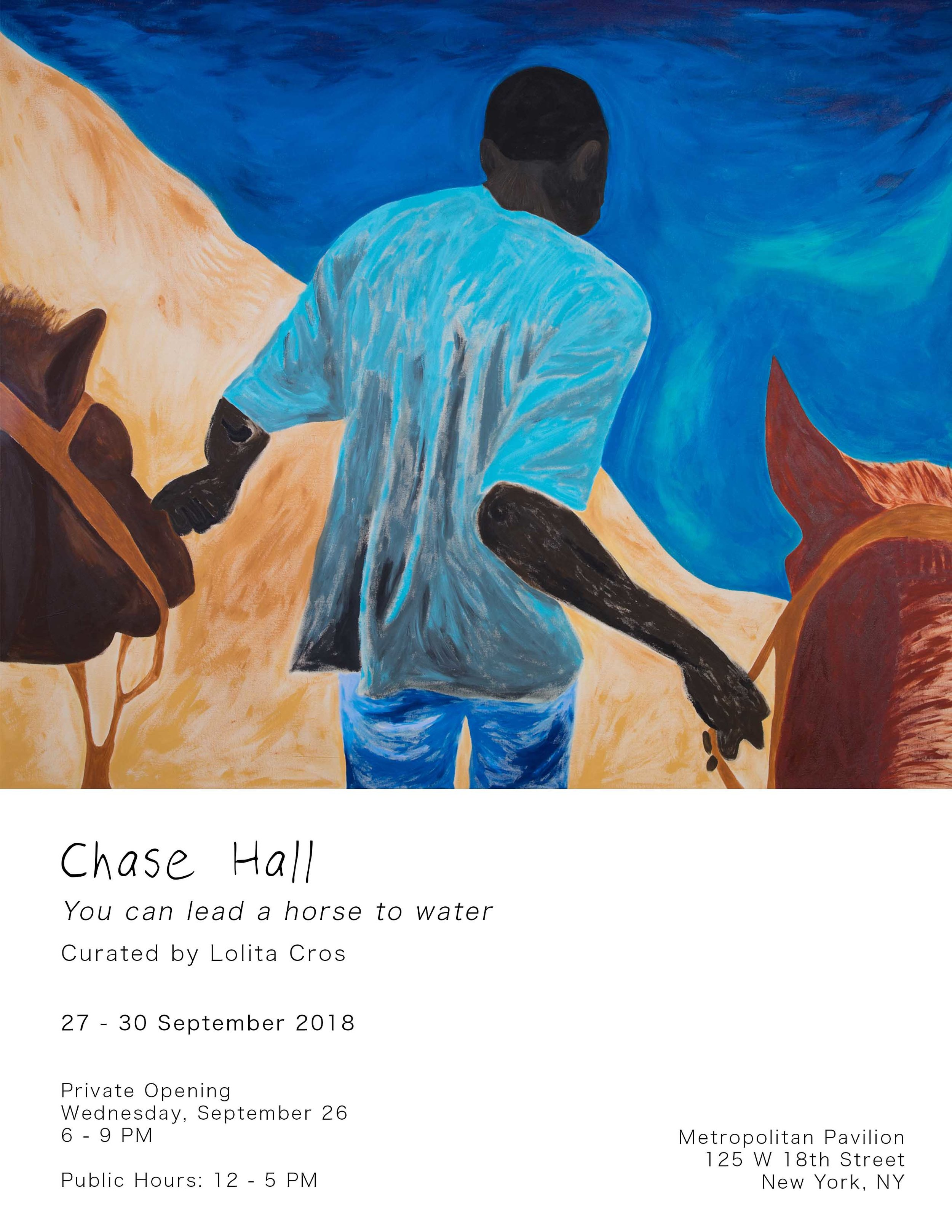 Chase Hall - You can lead a horse to water - Opening flyer.jpg