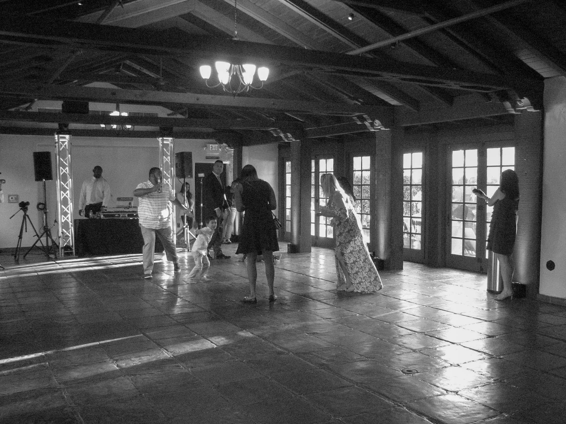 The Dance Floor (Sunset Room).