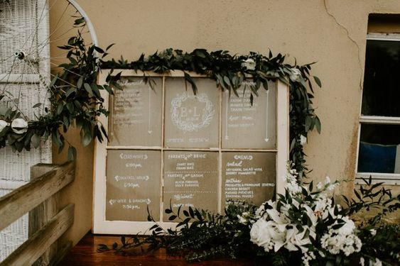 Rustic Wedding Idea Seating Chart Window.jpg