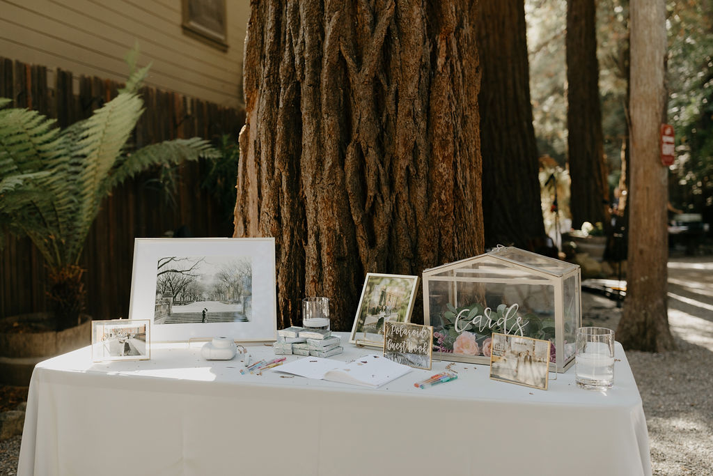 Deer Park Villa Wedding Planner Perfectly Planned Moments Nirav Patel Photography Welcome Table.JPG