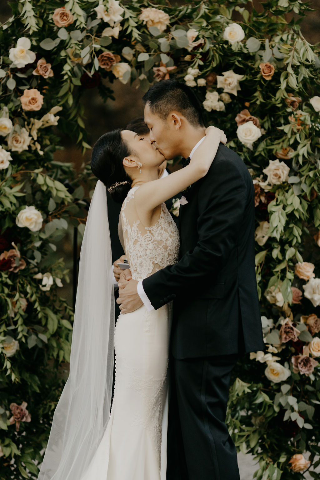 Deer Park Villa Wedding Planner Perfectly Planned Moments Nirav Patel Photography Ceremony Kiss.JPG