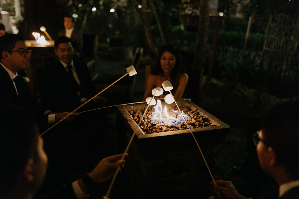 Deer Park Villa Wedding Planner Perfectly Planned Moments Nirav Patel Photography S'mores Firepit.JPG
