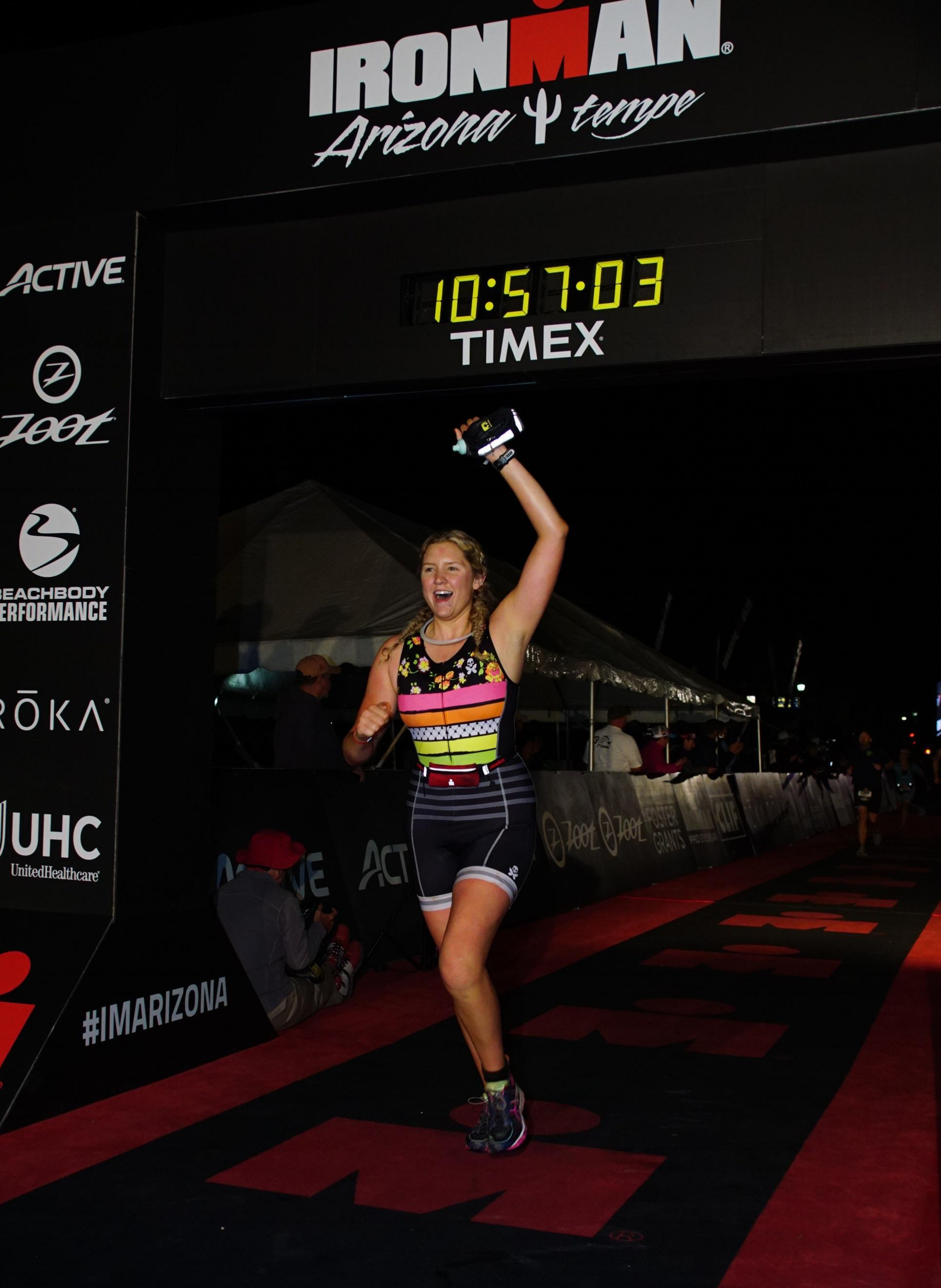 Jacqueline Wabler from Atlanta, Georgia...You Are An Ironman!