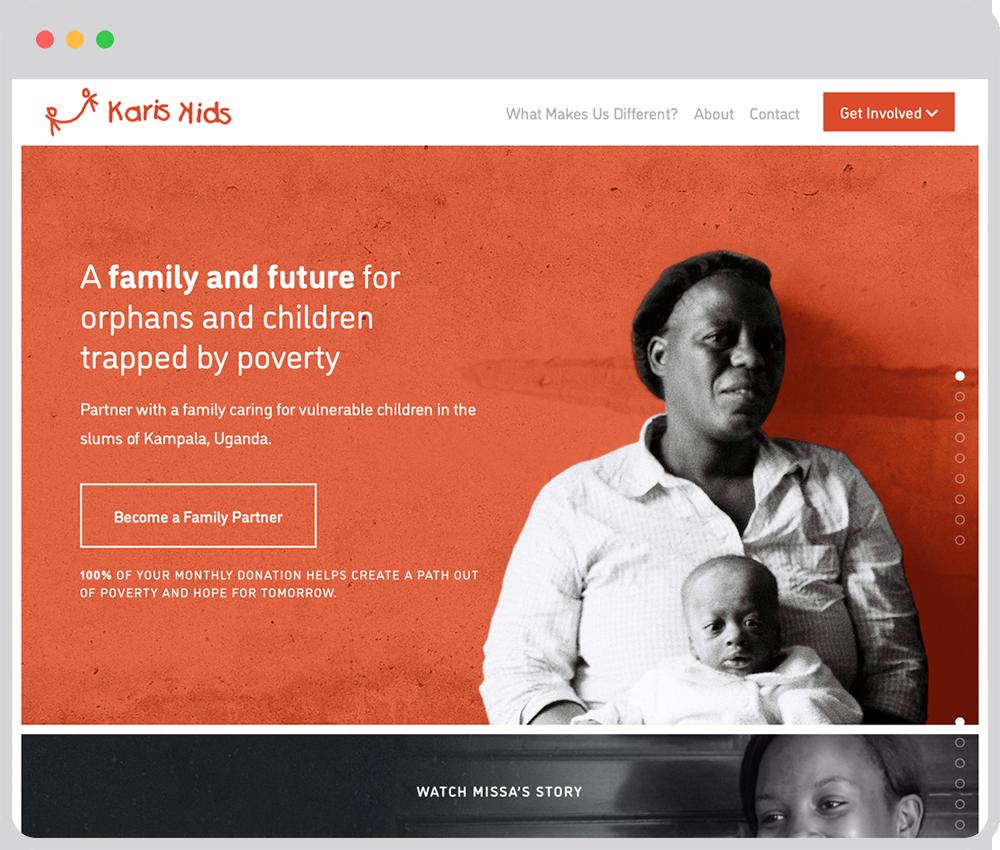Karis Kids website