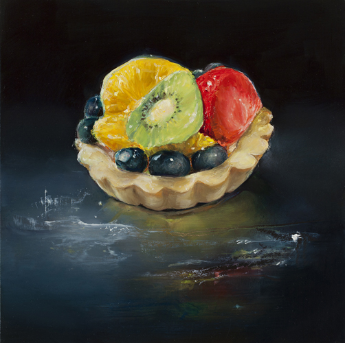 Fruit Tart with Kiwi