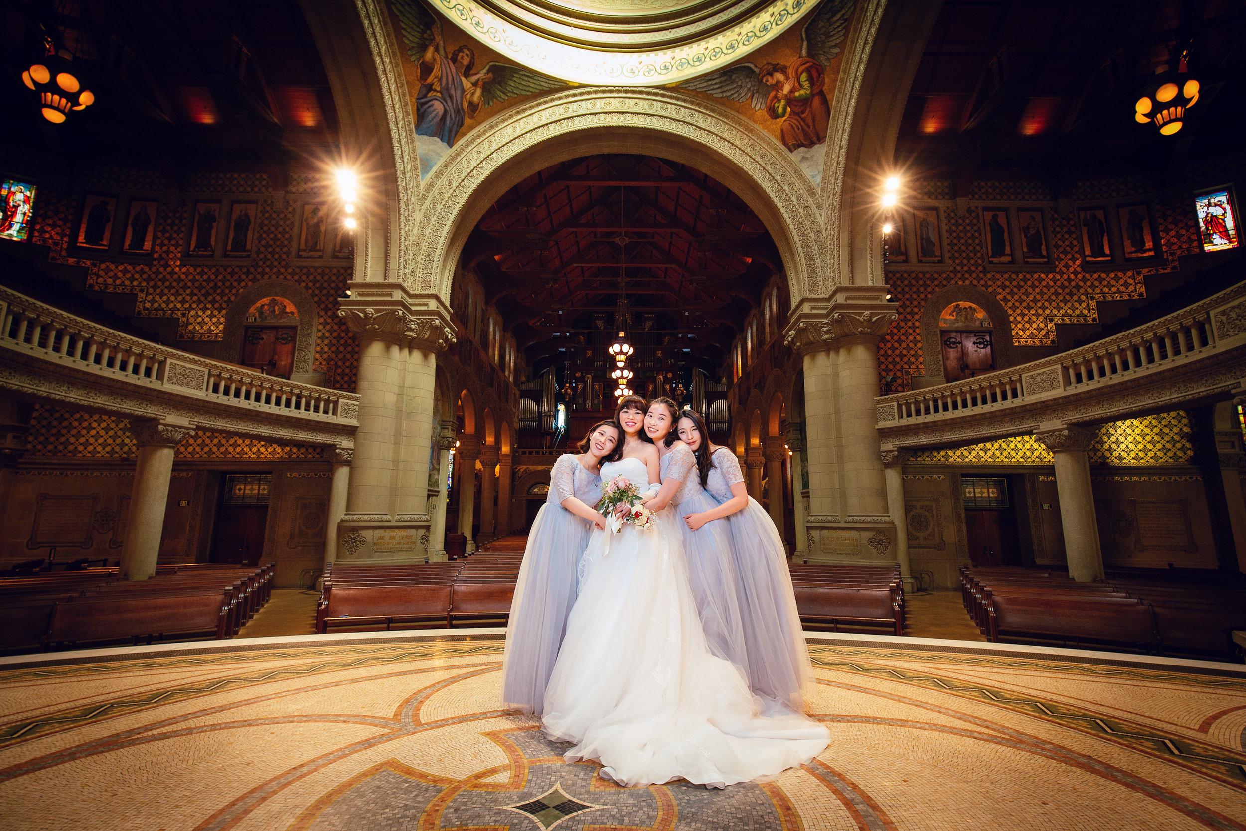 Stanford Wedding Photographer Stanford Memorial Church