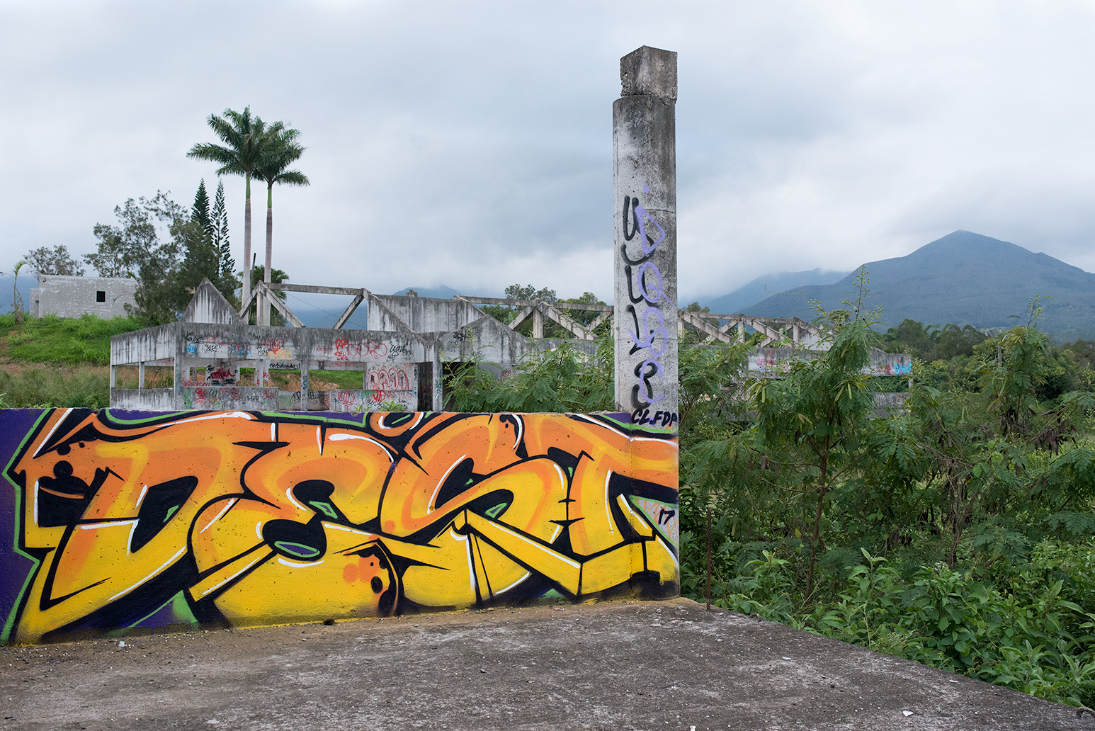 Painted in New-Caledonia