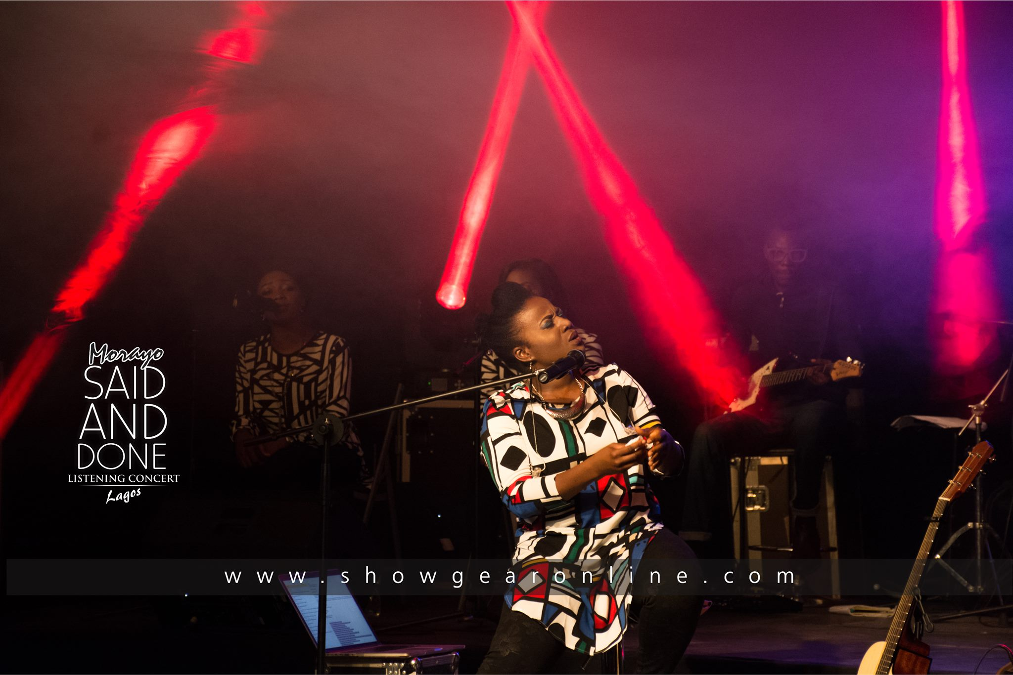Album leak Lagos, Nigeria. Sponsored by Showgear. Oct. 30th 2016