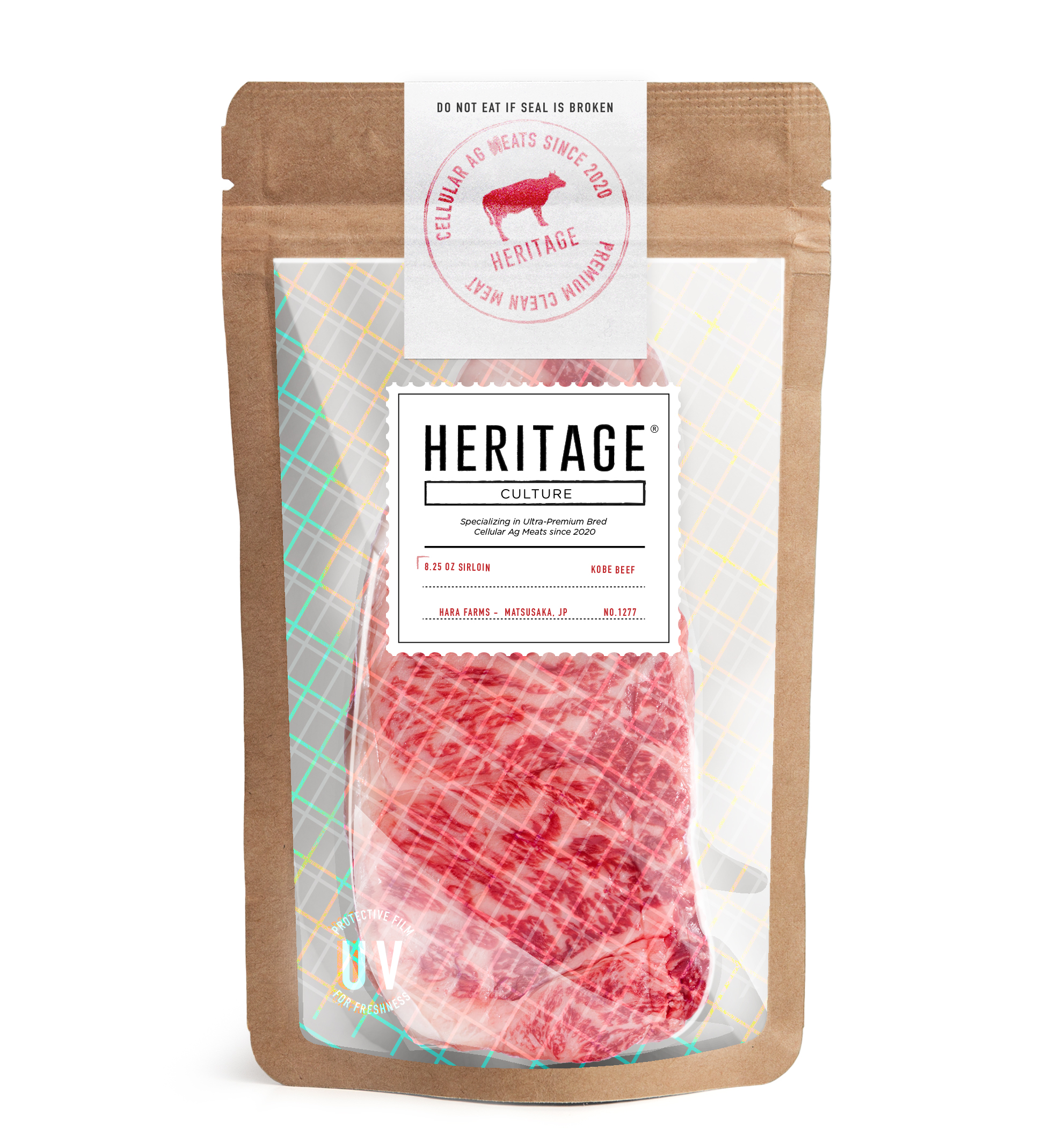 Heritage Culture    Heritage Culture offers delicious, luxury protein at everyday prices. Compared to raising traditional meat, our advancements in cellular agriculture allow us to produce premium cuts of Kobe and Wagyu Beef, Slate Turkey, and the like using minimal resources and energy.