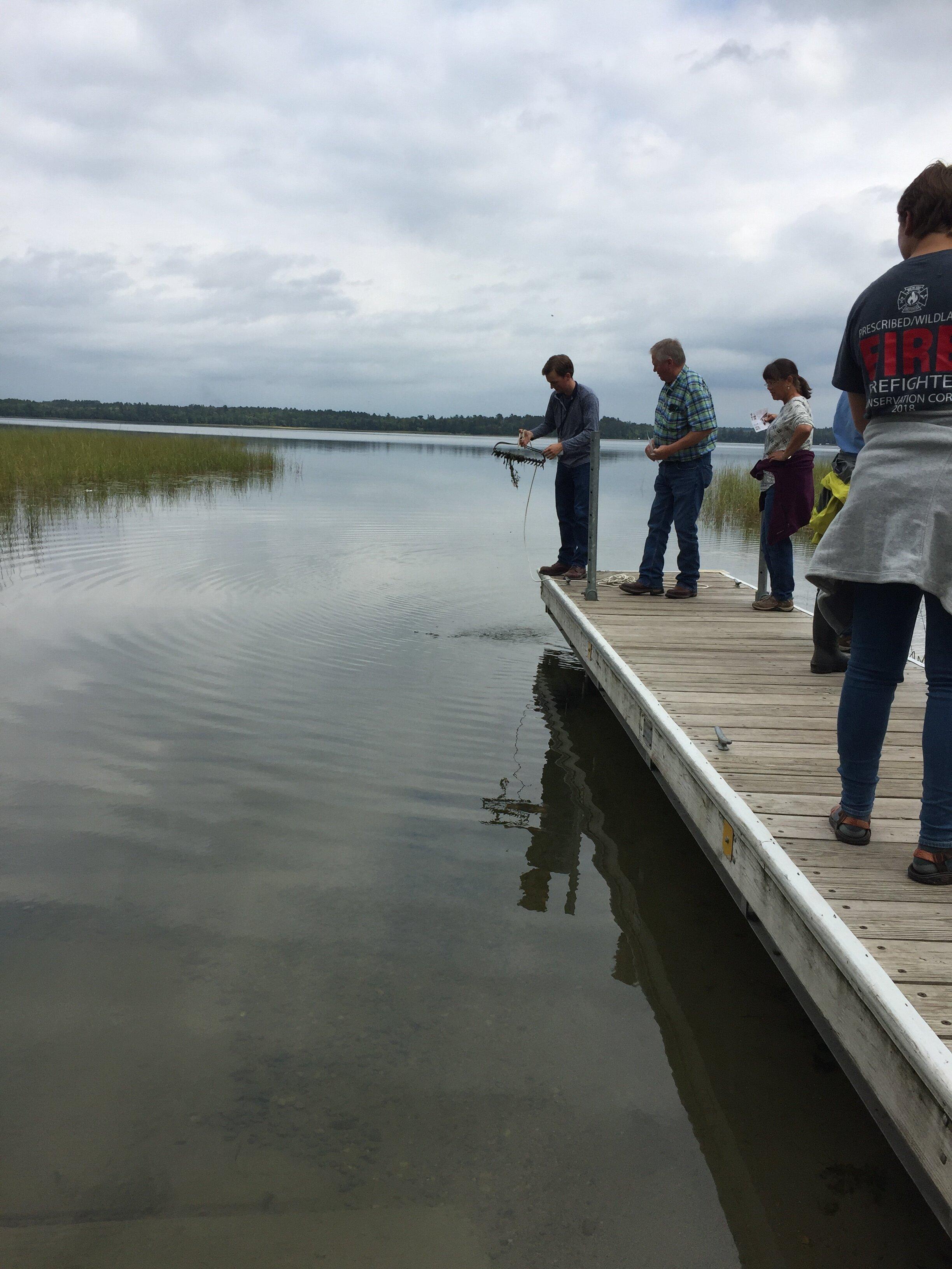 Lake Sampling Demo