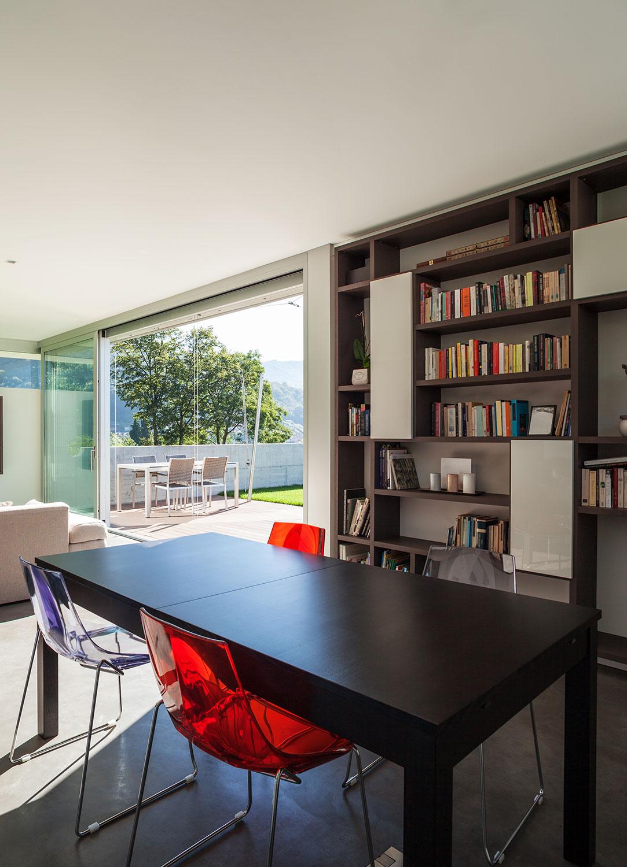 Librero y Repisas para Sala o Comedor