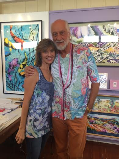 mick fleetwood wears Sage mauka mala like no one else. 2016