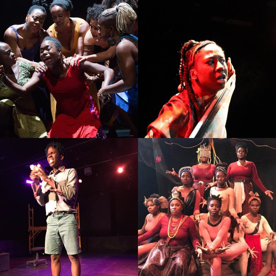 Nine dora nominations for Productions involving d'bi.young anitafrika in 2018