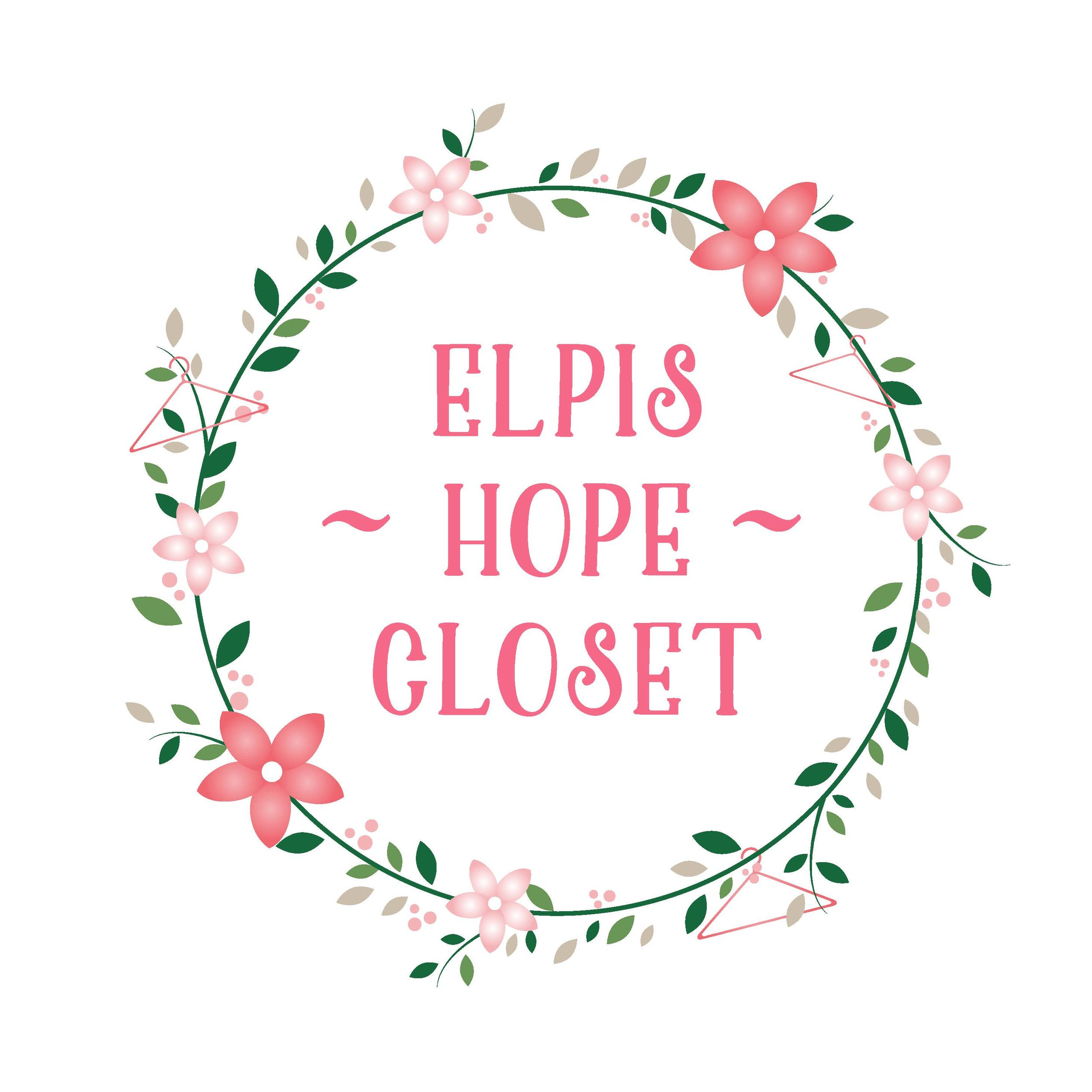 Elpis: Greek (ἐλπίς ) HOPE  Elpis (HOPE) Closet located at La Vintage Pink Door and Elpis Home for Women - provides clothing for New Hope Reentry Program