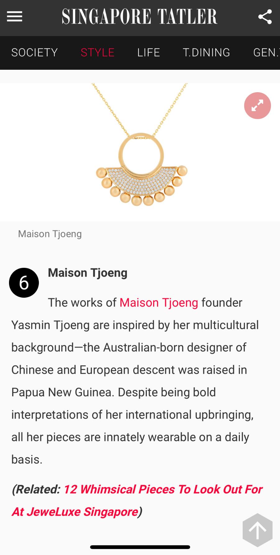 Tatler Singapore October 2018