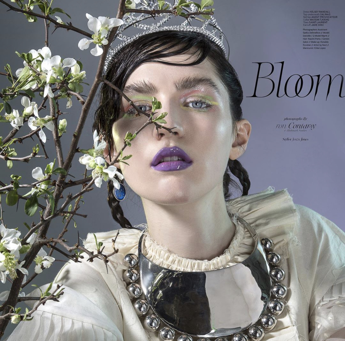 Ebby Magazine 'Bloom' Editorial July 2019
