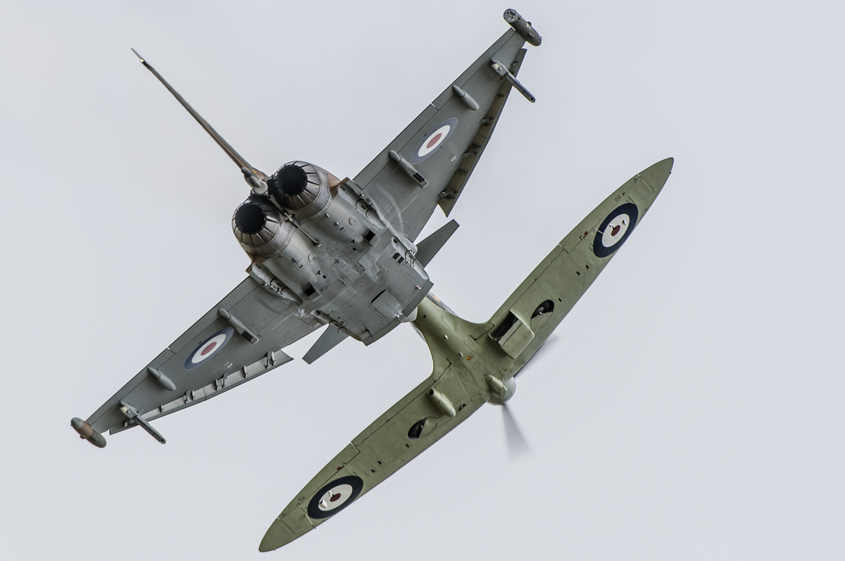 Spitfire and Typhoon Synchro Pair