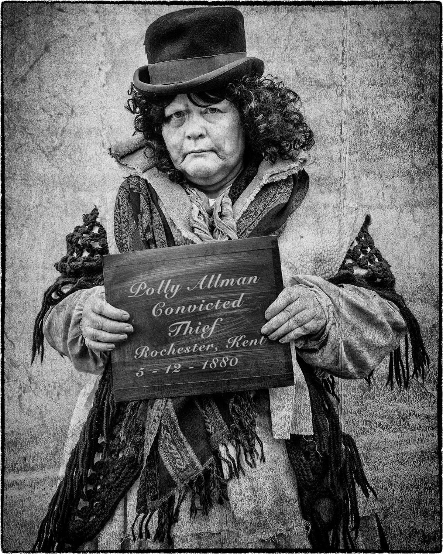 Polly Allman's Criminal Record