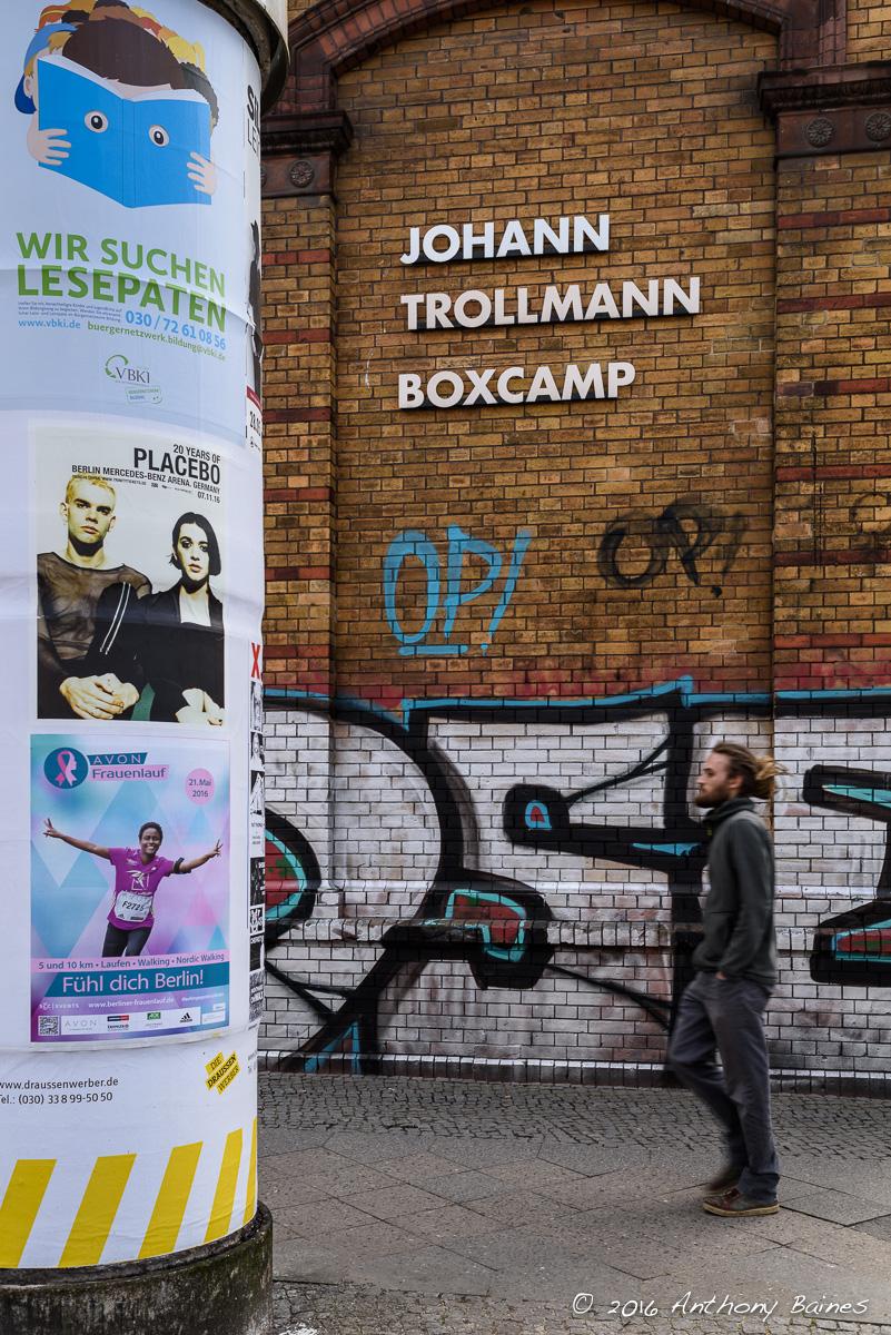 Johann Trollman Boxcamp, near Marheineke Markthalle