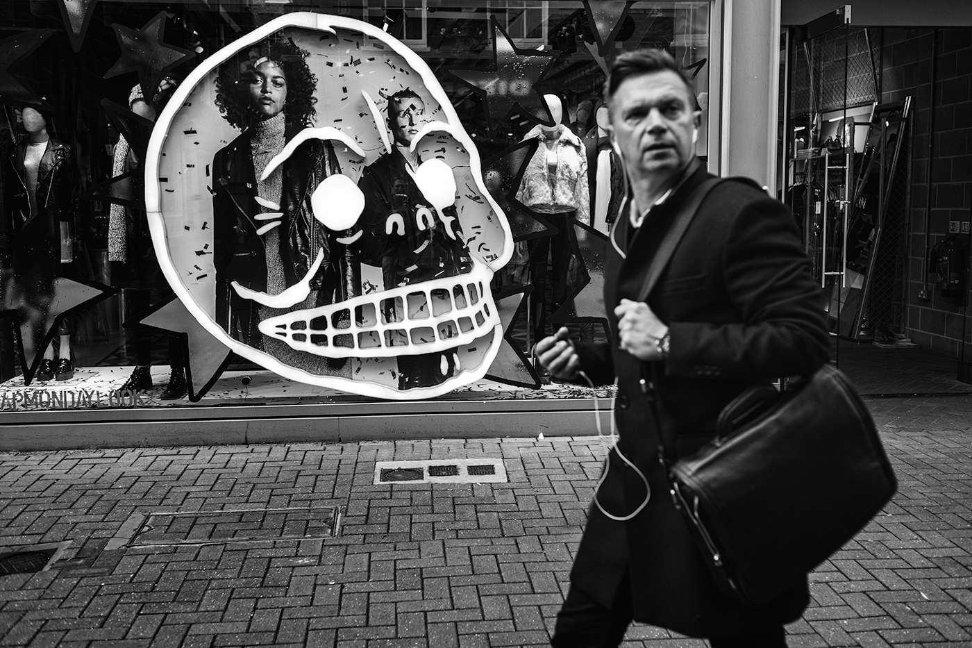 Skull time, Carnaby St