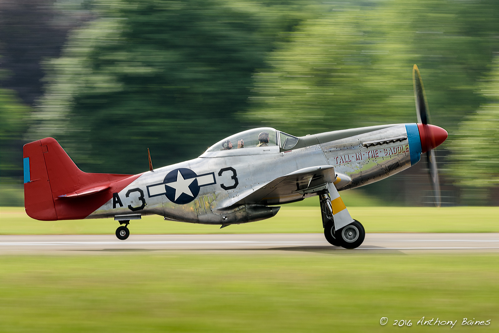 """Tall in the Saddle"" North American P-51D Mustang 44-72035 G-SIJ"