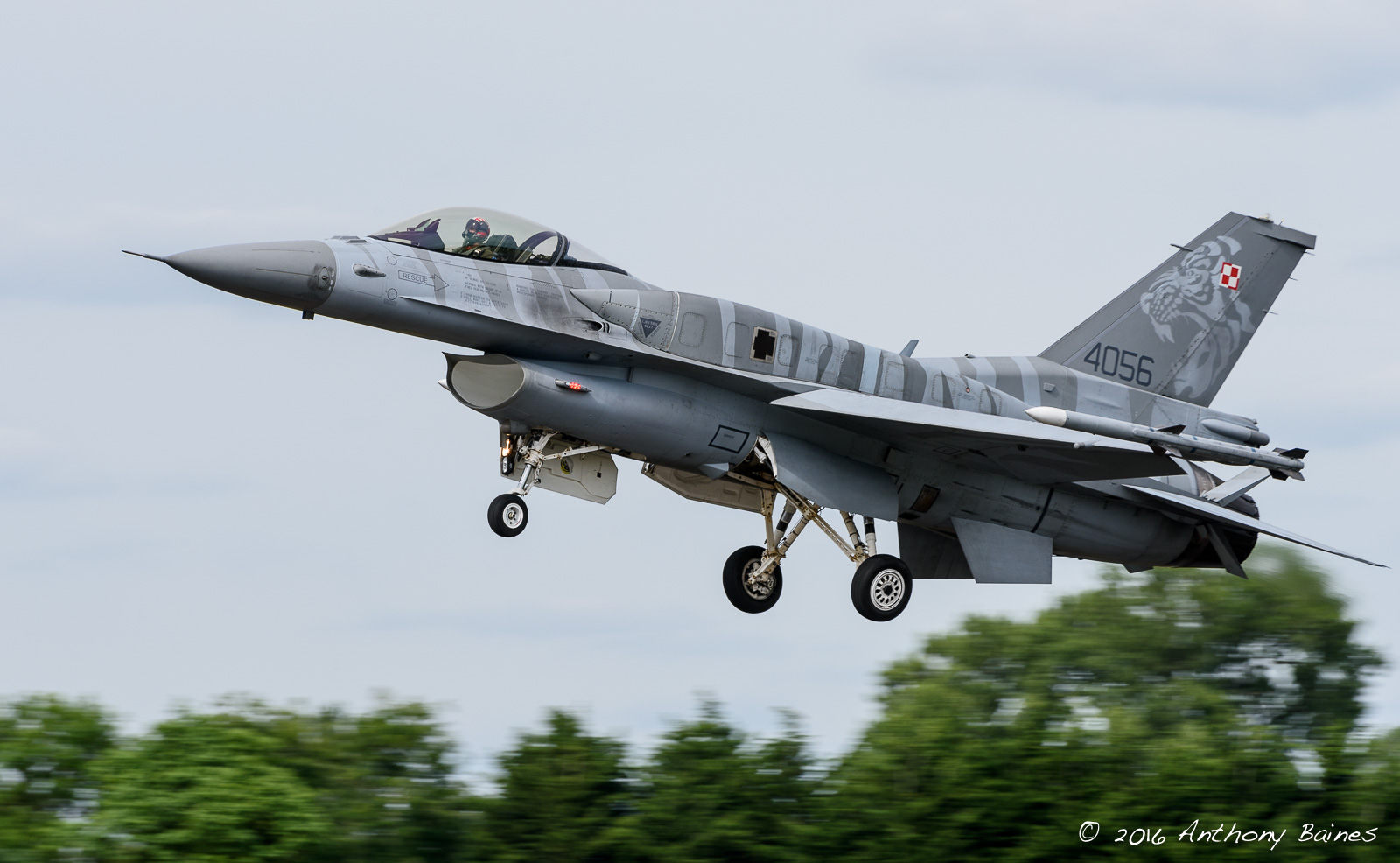 Polish Airford F-16C 4056