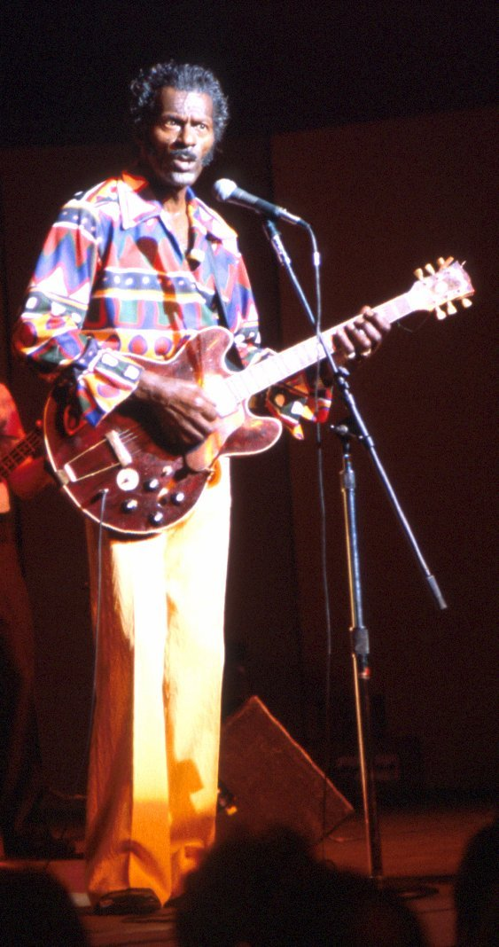 Chuck Berry, Baltimore Harborplace, 1985