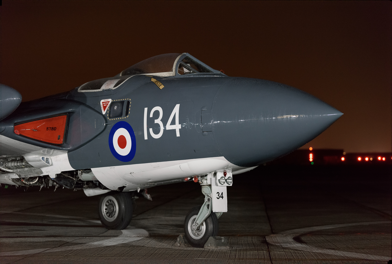 Two shots of the Sea Vixen processed using the median noise reduction (both taken at ISO6400)