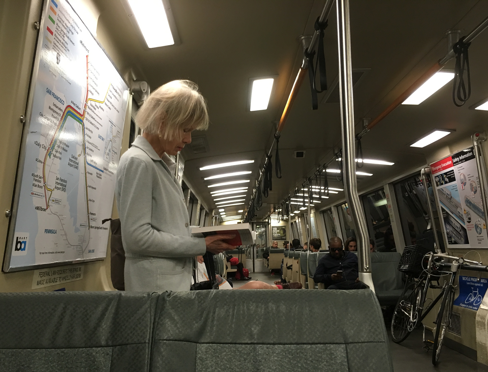 Book on the BART