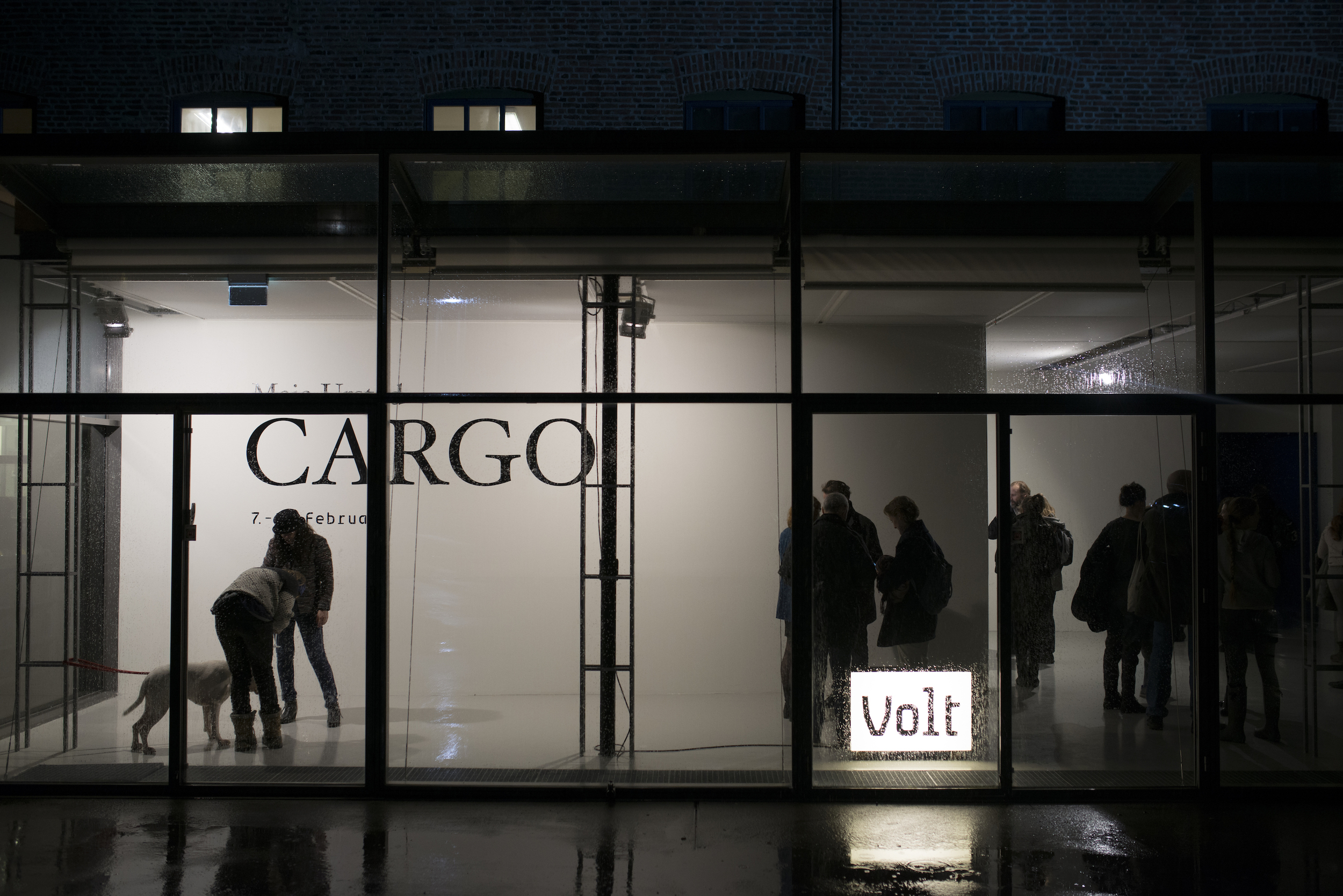 Image: Sound installation Cargo by artist Maia Urstad, Visningsrommet USF