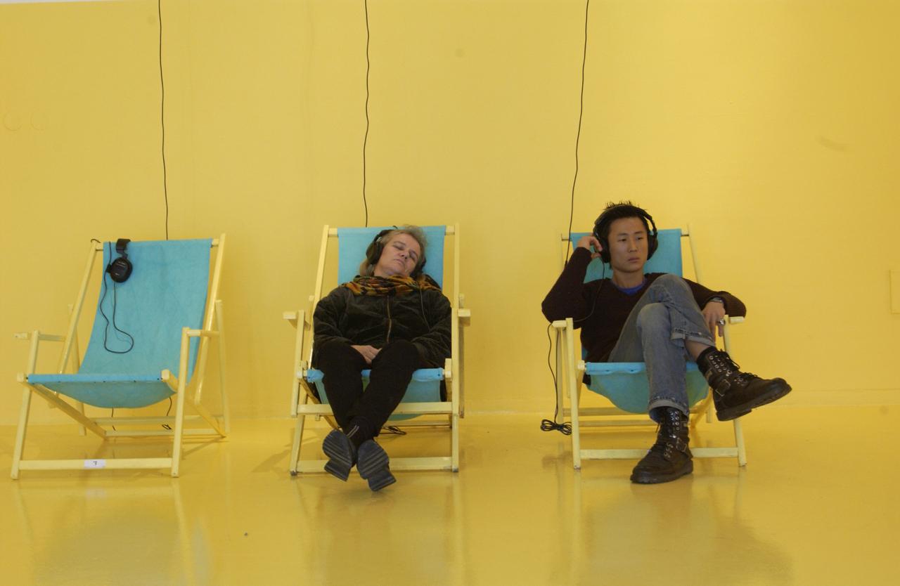 Silent Sound Motlyd by sound artists Maia Urstad, Jana Winderen and Jørgen Træen and Jana Winderen
