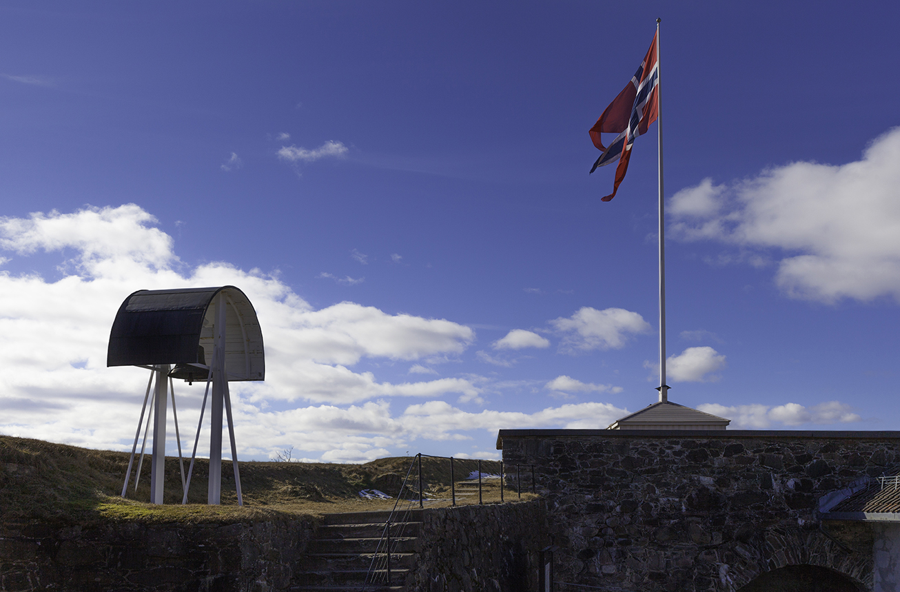 Kongsvinger Fortress, Norway. The flagpole served as Norway's prime meridian for over 60 years, starting in 1779. All photos: Walter Zellien