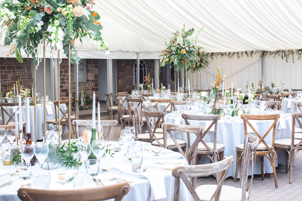 Wedding at Cefn Tilla Court