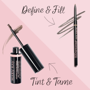 NEW! Mary Kay® Volumizing Brow Tint: $14    NEW! Mary Kay® Precision Brow Liner: $14
