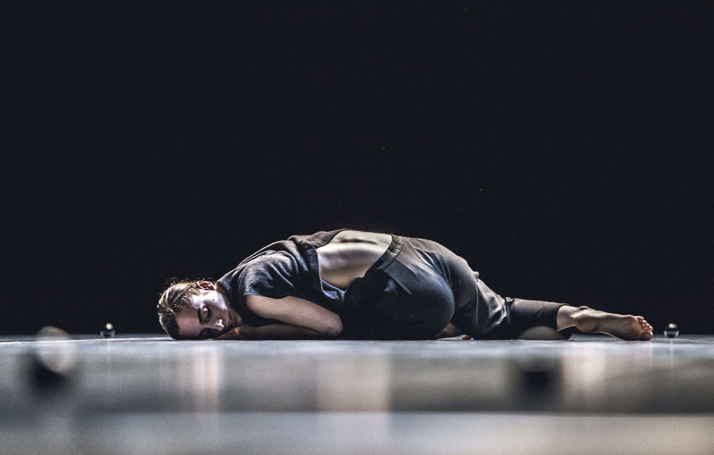 Inés Belda Nácher in Exhausting Space at Brave Festival, 2016. Photo by Mateusz Bral.