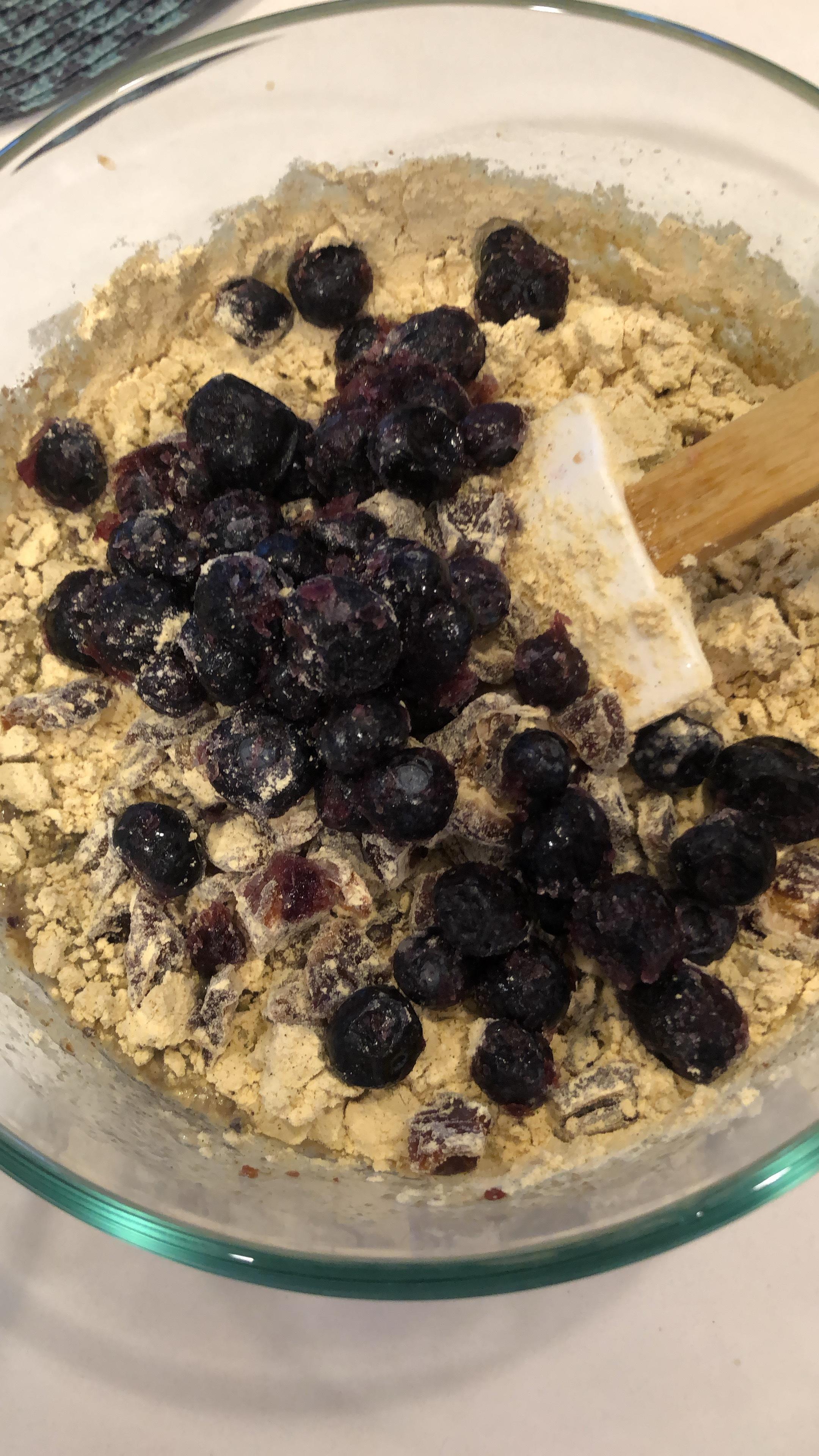 blueberry quinoa muffins vegan glutenfree